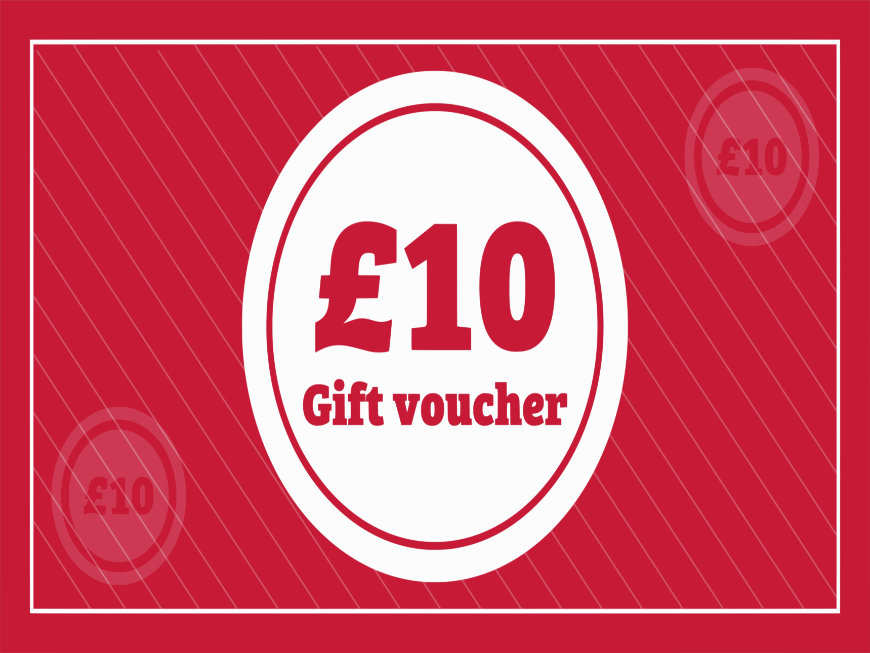 Gift Vouchers (Purchase in £10.00 increments)
