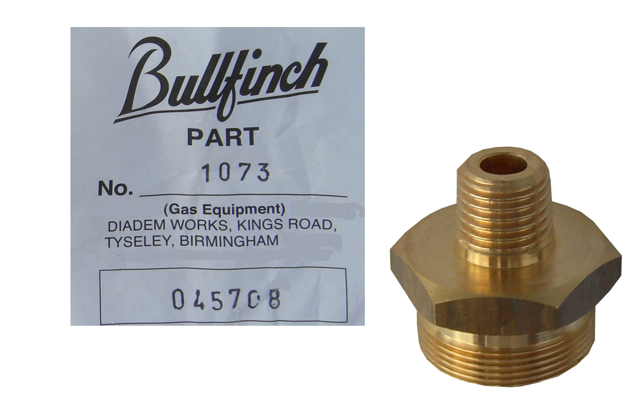 Bullfinch Burner Adaptor